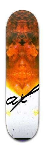 af Mystikal Banger Park Skateboard 8 x 31 3/4