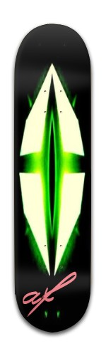 af Green Kross Banger Park Skateboard 8 x 31 3/4