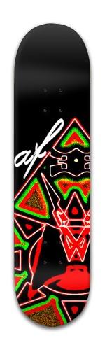 af Pyramid Banger Park Skateboard 8 x 31 3/4