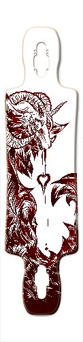 Ocean of Love Gnarlier 38 Skateboard Deck v2