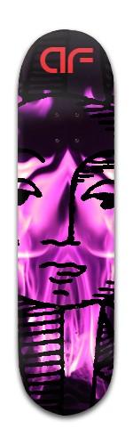 AF Queen Banger Park Skateboard 8 x 31 3/4