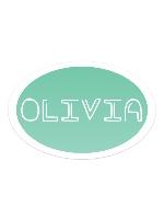 Sticker 6 x 4 Oval