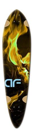 af Fyr Snake Dart Skateboard Deck v2
