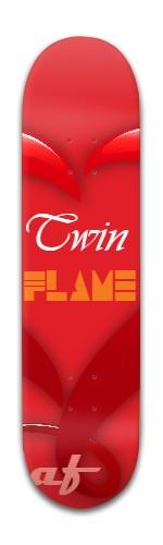 af Twin Flame Banger Park Skateboard 8 x 31 3/4