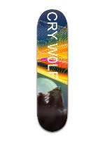 Cry Wolf Banger Park Skateboard 8 x 31 3/4