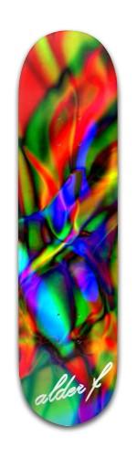 rainbowtic Banger Park Skateboard 8 x 31 3/4