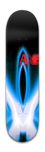 """af """"black hole"""" Banger Park Skateboard 8 x 31 3/4"""