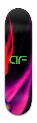 """af """"blk diamond"""" Banger Park Skateboard 8 x 31 3/4"""