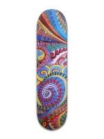 Psychedelic Banger Park Skateboard 8 x 31 3/4