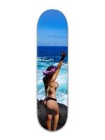 hawaii 4 Banger Park Skateboard 8 x 31 3/4