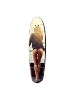 NY Custom Riviera Anatomy of a Skateboard 8 x 30