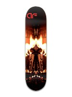 "af ""welcome to hell"" Banger Park Skateboard 8 x 31 3/4"