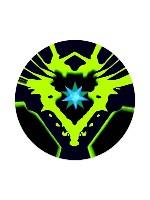 af energy Sticker 4 x 4 Circle