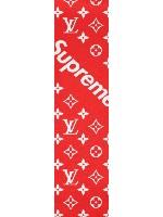 LV ft Surpeme Griptap Custom skateboard griptape