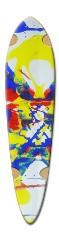 Symmetry 25 Dart Skateboard Deck v2