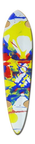 Symmetry 25 Dart Skateboard Deck v2