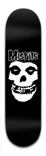 Misfits Banger Park Skateboard 8.5 x 32 1/8