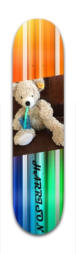 Episode rainbow bear Banger Park Complete Skateboard 7 3/8 x 31 1/8