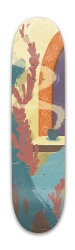 spanish colonial Park Skateboard 8 x 31.775