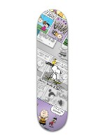 It's Skateboarding Charlie Brown! R Banger Park Skateboard 8 x 31 3/4