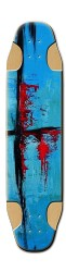 abstract art Fishbowl Longboard
