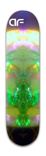 Green Madulla Banger Park Skateboard 8 x 31 3/4