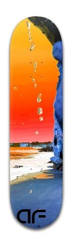 Ocean Drip Banger Park Skateboard 8 x 31 3/4