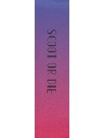 Scoot or die Custom skateboard griptape