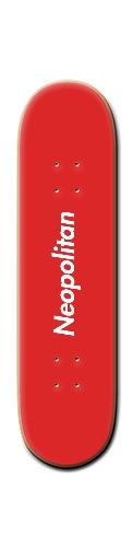 Neopolitan x Supreme Deck Banger Park Skateboard 8 1/4  x 32