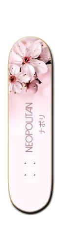 "Neopolitan ""Blossom"" Deck Banger Park Skateboard 8 1/4  x 32"