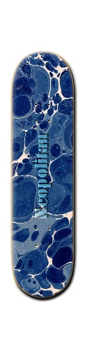 "Neopolitan ""Why is it Blue?"" De Banger Park Skateboard 8 1/4  x 32"