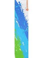 Rainbow Blue Custom longboard griptape