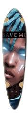 Xxxtentation board Dart Complete Skateboard Deck v2