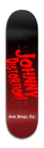 Johnny Distortion 1 Banger Park Skateboard 8 x 31 3/4