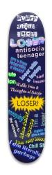 Everything Sucks Loser Park Skateboard 7.88 x 31.495