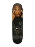 2Pac Middle Finger Skateboard Banger Park Skateboard 8 x 31 3/4