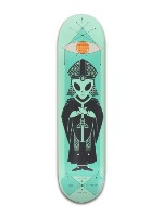 Alien Workshop Skateboards High Pri Banger Park Skateboard 8 x 31 3/4