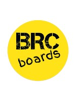 brc boards Sticker 4 x 4 Circle