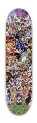 Anime collage Park Skateboard 8 x 31.775