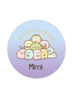 Mimi sumikko gurashi Sticker 4 x 4 Circle