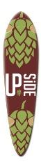 UpsideF Dart Complete Skateboard Deck v2