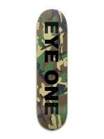 EYE ONE Camouflage V1 Banger Park Skateboard 8 x 31 3/4
