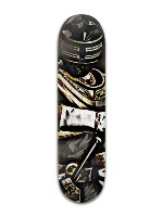 Gold Ranger Banger Park Skateboard 8 x 31 3/4