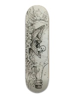 Message in a bottle Banger Park Skateboard 8.5 x 32 1/8