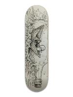 Message in a bottle Banger Park Skateboard 8.5 x 32 1/8