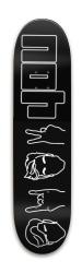 Dolan Park Skateboard 8 x 31.775