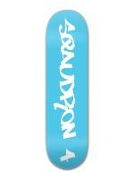 Sqaudron 4 Original Blue 8.5 Banger Park Skateboard 8.5 x 32 1/8