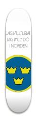 sverige Park Skateboard 8 x 31.775