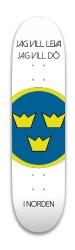 Sverige genom tiden Park Skateboard 8 x 31.775