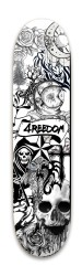 4REEDOM tattoo board Park Skateboard 8 x 31.775